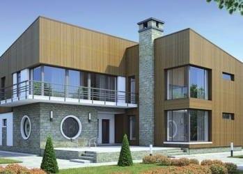 Проект кирпичного дома 94-83