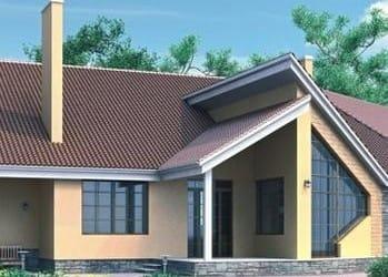 Проект кирпичного дома 98-33