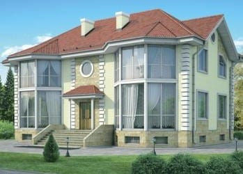 Проект кирпичного дома 99-63