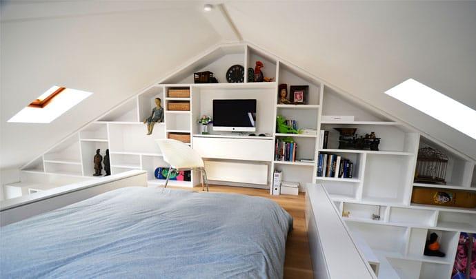 Loft-Space-Craft-Design-London-Camden-Tiny-Apartment-Bedroom-Humble-Homes