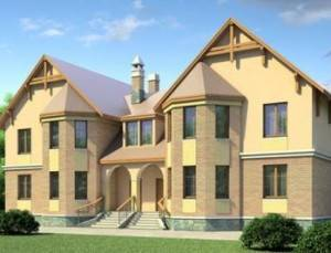 Проект дома на 2 семьи 53-63