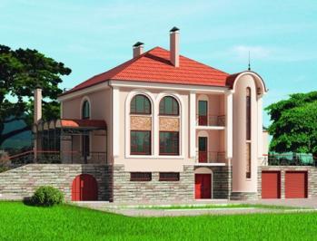 готовые проекты домов с гаражом