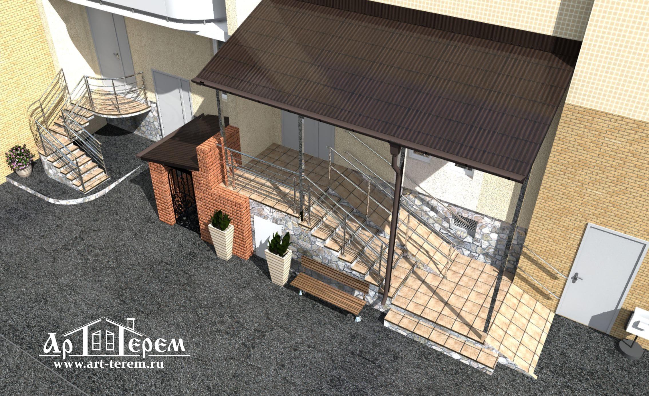 Индивидуальный проект дома (коттеджа)