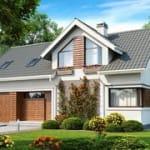 проекты домов из кирпича москва