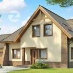 проекты кирпичных домов москва