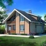 проекты каркасных домов москва