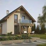 фасады загородных домов москва