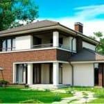 стоимость строительства дома в москве
