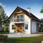 проект дома с плоской крышей Москва