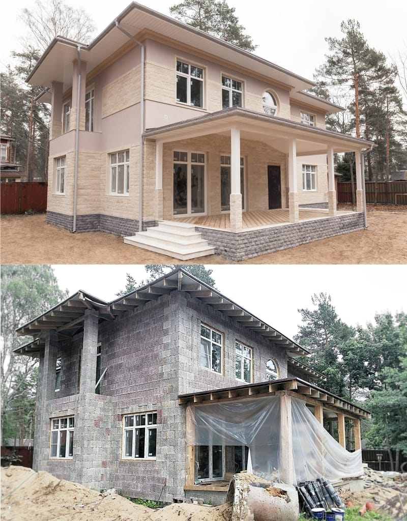 Проект дизайн фасада - Арт-Терем
